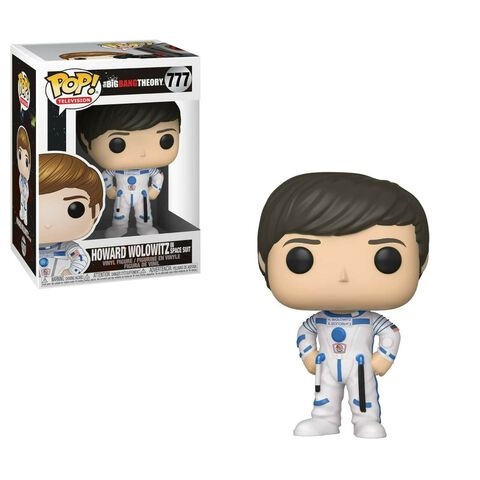 Figurine Funko Pop! N°777 - The Big Bang Theory - S2 Howard Wolowitz en tenue spatiale