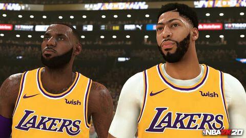 Précommande NBA 2K20