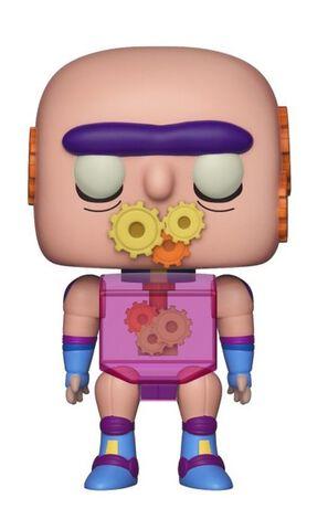 Figurine Funko Pop! N°438 - Rick et Morty - Gearhead Premium Convention