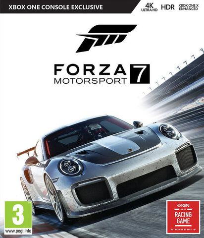 Forza Motorsport 7 - Jeu complet - Version digitale