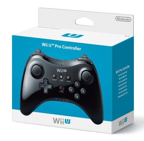 Manette Classique Wii U Pro Noire