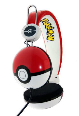 Casque Audio Universel Pokemon Pokéball