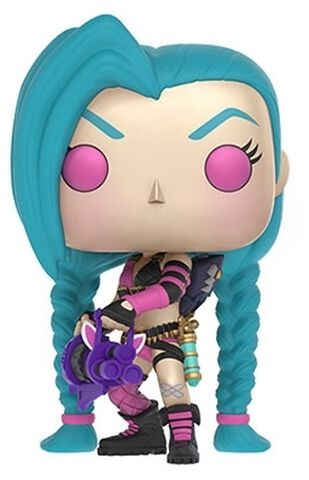 Figurine Funko Pop! N°05 - League of Legends - Jinx