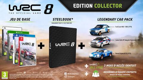 Wrc 8 Edition Collector