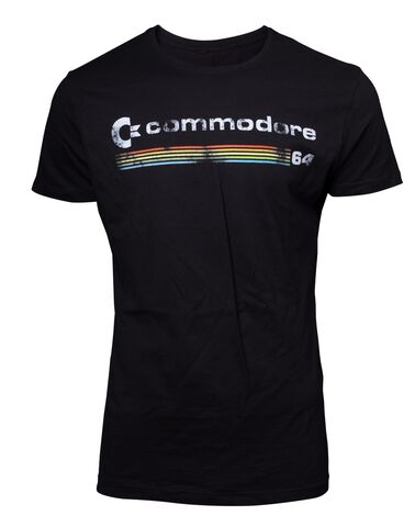 T-shirt - Commodore 64 - Logo Men's - Taille M