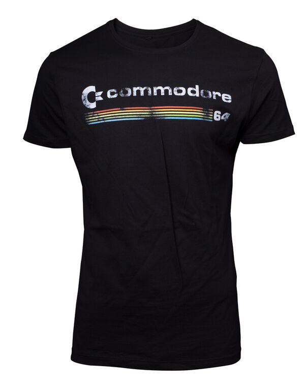 T-shirt - Commodore 64 - Logo Men's - Taille XL