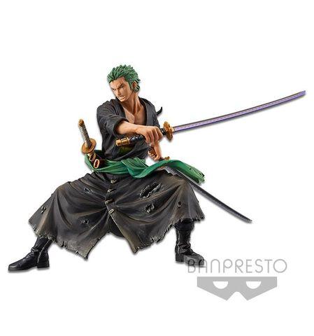 Figurine - One Piece - Zoukei Monogatari Roronoa Zoro Version Spéciale Couleur
