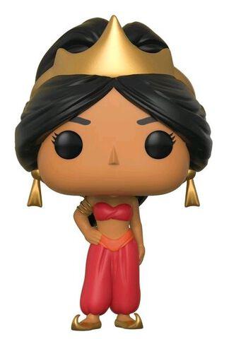 Figurine Funko Pop! N°354 - Aladdin - Jasmine (rouge)