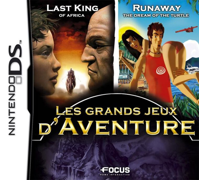 Pack Aventure Last King Africa + Runaway The Dream Of The Turtle
