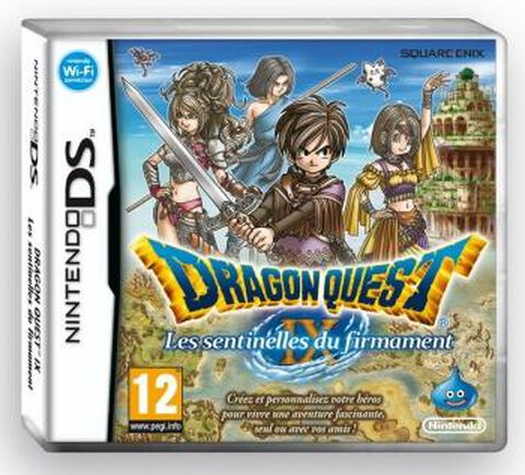 Dragon Quest Ix, Les Sentinelles Du Firmament