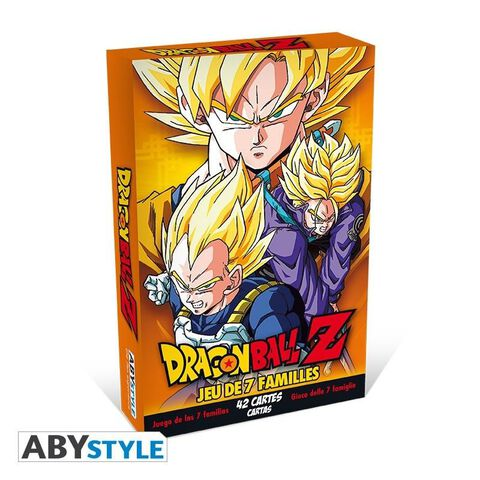 Jeu - Dragon Ball - 7 Familles