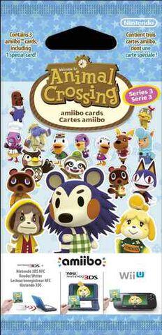 Cartes Amiibo Animal Crossing 3