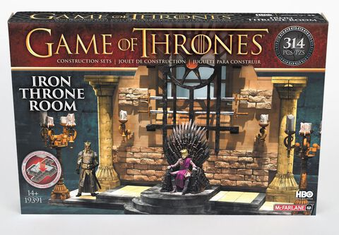 Pack De Construction - Game Of Thrones - La Salle Du Trone