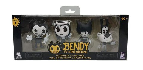Figurines - Bendy and the Ink Machine - Pack de 4 Série 1