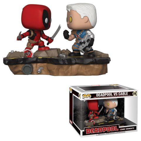 Figurine Funko Pop! Moment N°318 - Deadpool - Deadpool Vs Cable