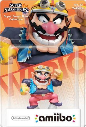 Figurine Amiibo N°32 Smash Wario