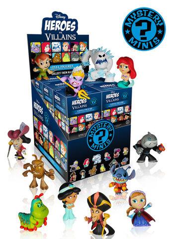 Figurine Mystère - Mystery Minis - Disney Heroes vs Villains