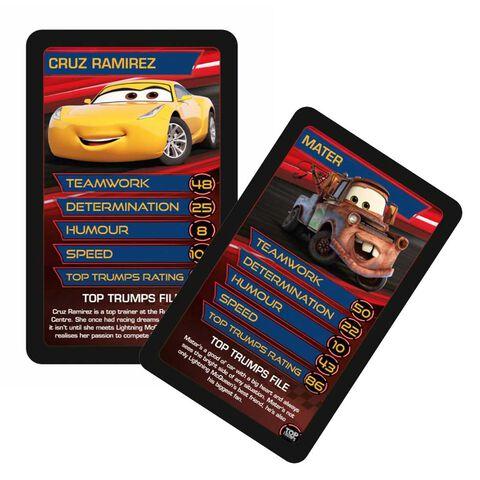 Jeu de cartes - Cars 3 - Bataille