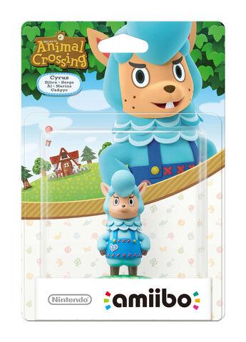 Figurine Amiibo Animal Crossing Serge
