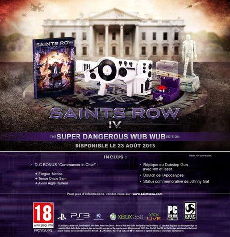 Saints Row IV : The Super Dangerous Wub Wub Edition