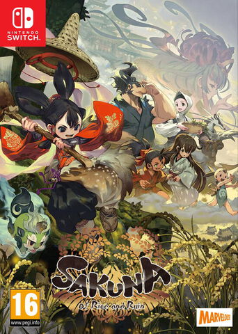 Sakuna Of Rice And Ruin Golden Harvest Edition