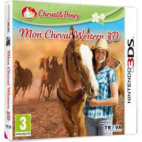 Mon Cheval Western 3d