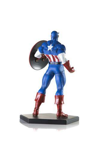 Statuette Iron Studios - Marvel Comics - Captain America