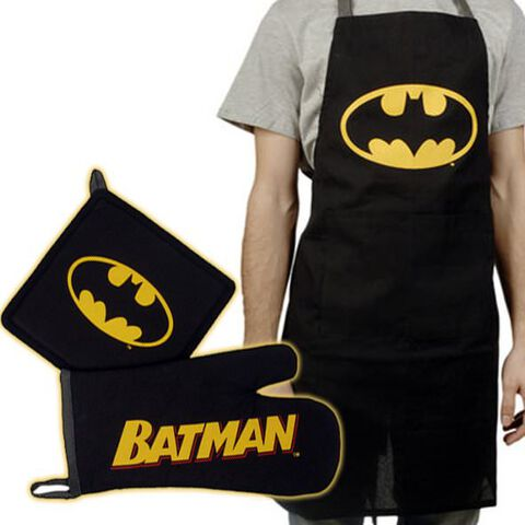 Tablier - Batman - Avec Gant Logo