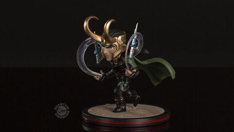 Statuette Q-fig - Thor : Ragnarok - Loki Diorama 10 cm