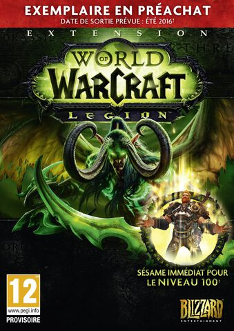 World of Warcraft Legion Boite Pre-achat