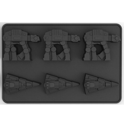 Pack Glacons - Star Wars - At-at & Star Destroyer