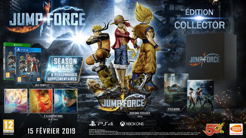 Jump Force Collector Edition