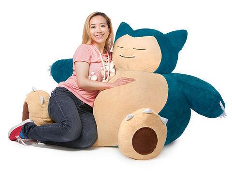Pouf géant - Pokémon - Ronflex