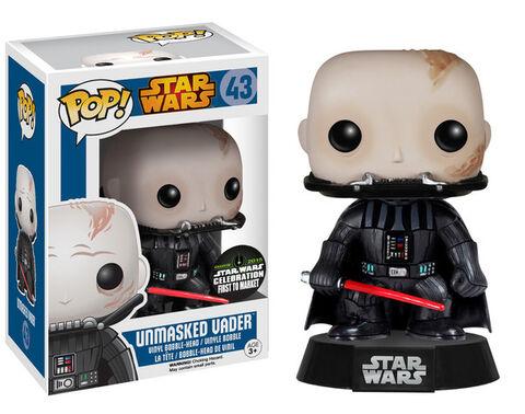 Figurine Funko Pop! N°43 - Star Wars - Vador démasqué