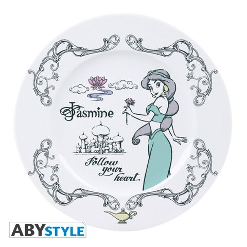 Assiettes - Disney Princesses - Set De 4 Assiettes