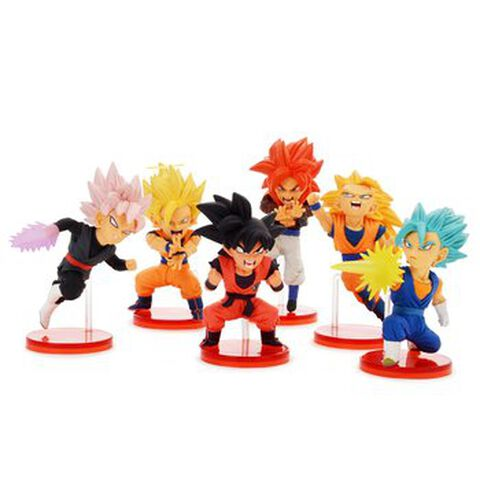Figurine Wcf - Dragon Ball Super - Saiyans Bravery Volume 1