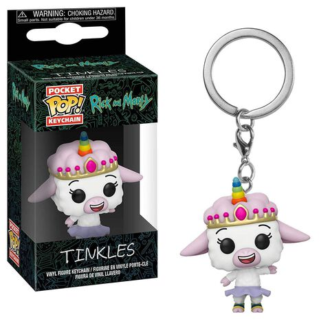 Porte-clés Pop - Rick et Morty - Tinkles