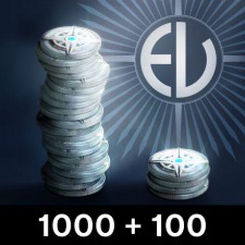 DLC - Destiny 1000 Argentum (+ 100 En Bonus) - PS3 - PS4