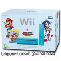 Nintendo Wii Bleue + Mario & Sonic Aux Jeux Olympiques De Londres 2012