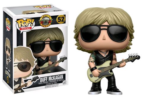 Figurine Funko Pop! N°52 - Guns N' Roses - Duff McKagan
