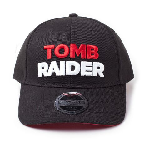 Casquette - Tomb Raider - 3D Embroidery Logo Curved Bill