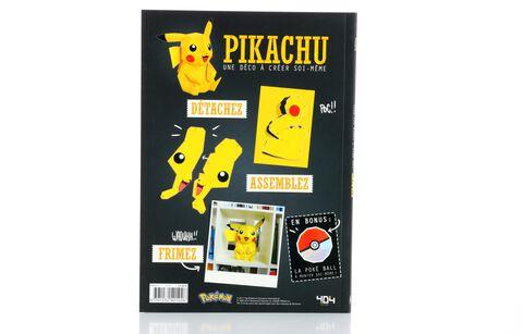 Livre - Pokemon - Une Déco à Créer Soi-même