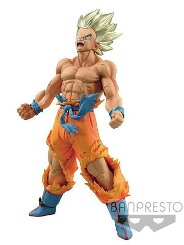 Statuette Blood Of Saiyans - Dragon Ball Z - Son Goku Super Saiyan