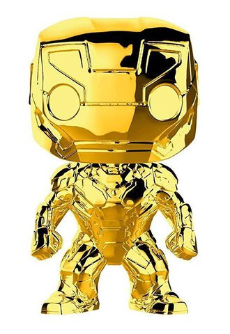 Figurine Funko Pop! N°375 - Marvel Studios 10 - Iron Man (chrome)