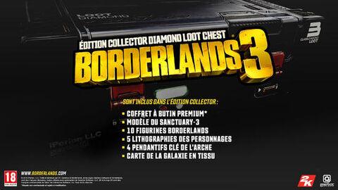 Coffret Collector Borderlands 3 (Jeu non inclus)