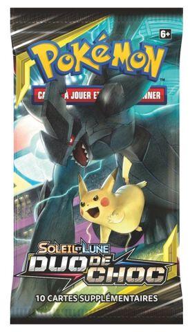 Booster Blister - Pokémon - Soleil et Lune - Duo de Choc