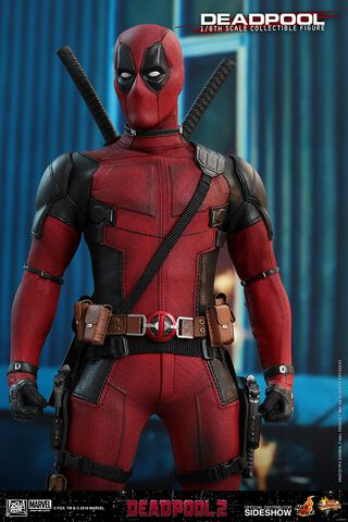 Figurine Hot Toy - Deadpool 2 - Deadpool Masterpiece 1/6