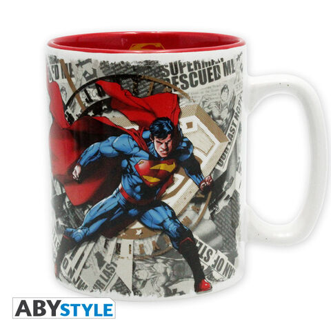 Mug - Dc Comics - Superman & Logo - 460 Ml