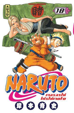 Manga - Naruto - Tome 18