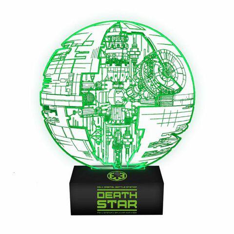 Lampe - Star Wars Les Derniers Jedi - Etoile de la mort
